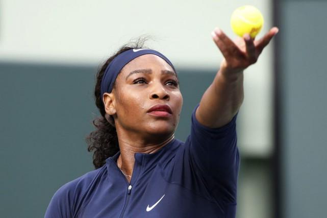 La N.1 mondiale et triple tenante du titre Serena Williams s'est qualifiée pour... (Photo USA Today Sports)