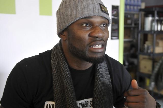 Francy Ntetu affirme qu'il livrera un combat significatif... (Photo Le Progrès-Dimanche, Rocket Lavoie)