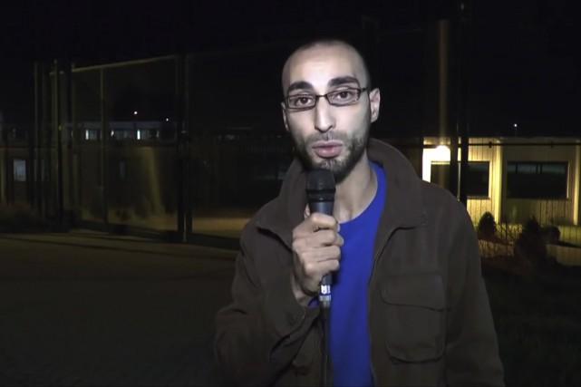 Fayçal Cheffou, suspecté d'être l'homme au chapeau lors... (Agence France-Presse)