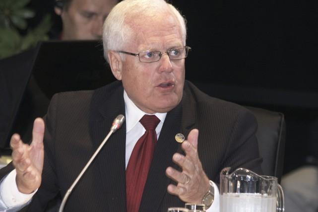 Le député libéral de Dubuc, Serge Simard... (Archives Le Progrès-Dimanche)