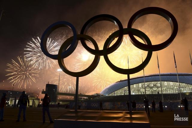 Quatre athlètes russes sacrés champions olympiques lors des JO-2014 d'hiver à... (PHOTO D'ARCHIVES)