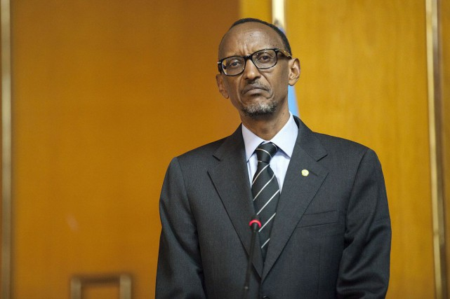 Le président rwandais Paul Kagame.... (PHOTO ZACHARIAS ABUBEKER, ARCHIVES AFP)