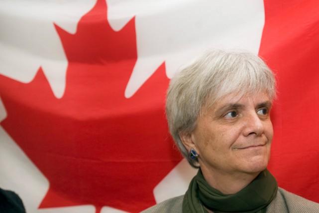 La députée néo-démocrate Hélène Laverdière... (Photo Graham Hughes, archives La Presse Canadienne)