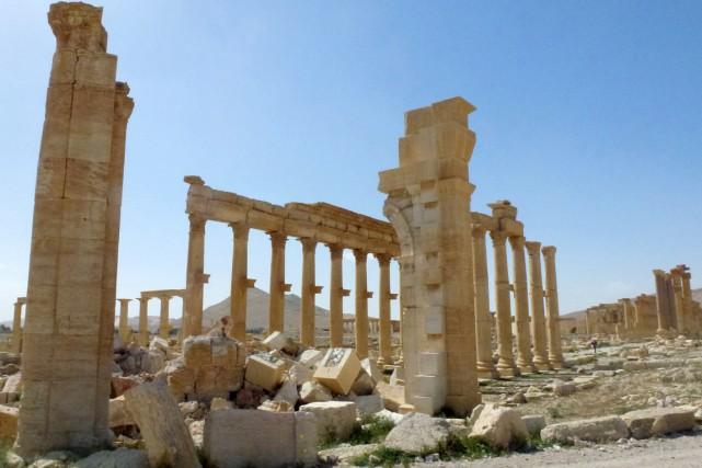 Sur cette photo prise le 27 mars, l'on... (AFP, Maher Al Mounes)
