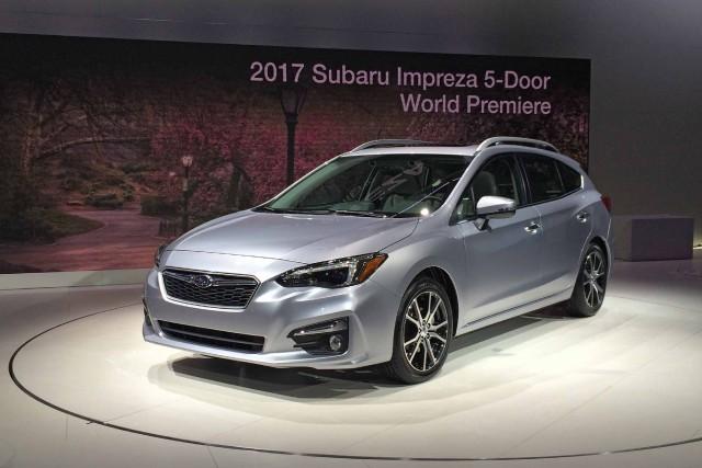 La Subaru Impreza 2017...