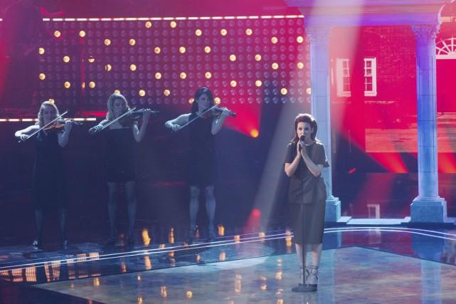 Geneviève Leclerc s'est qualifié grâce à son interprétation... (OSA Images)