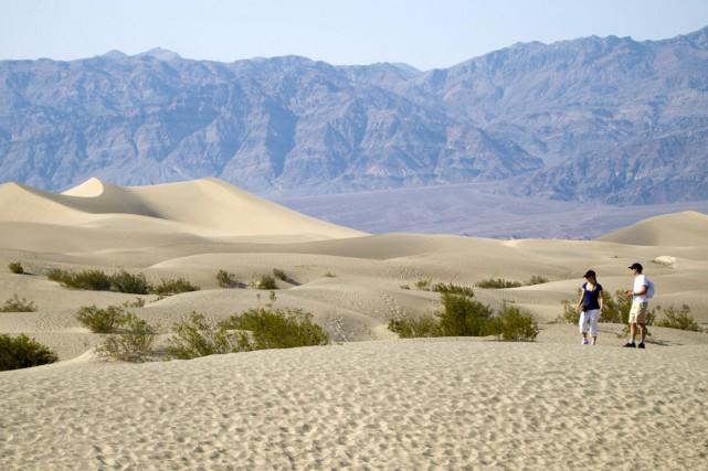 Death Valley, en Californie.... (PHOTO REUTERS)