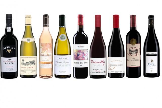 Découvrez, pour une dernière fois, les vins de la semaine proposés par Jacques... (PHOTOS FOURNIES PAR LA SAQ)