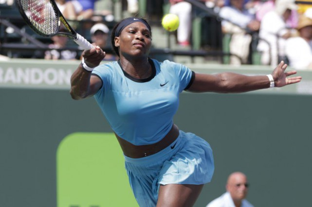 Serena Williams... (PHOTO LYNNE SLADKY, ASSOCIATED PRESS)