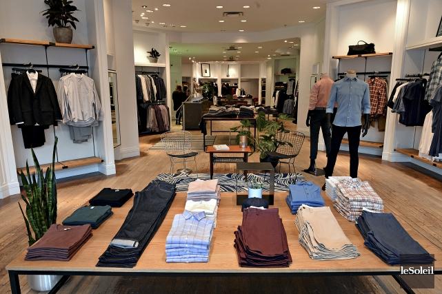 Nouvelle boutique pour hommes Frank & Oak à... (Le Soleil, Patrice Laroche)