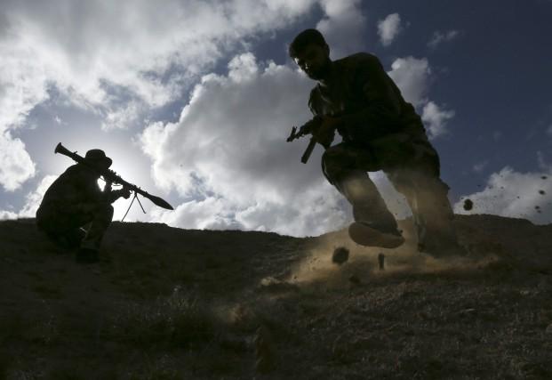 Le groupe État islamique (EI) souhaite déclencher une... (Photo Hadi Mizban, Associated Press)