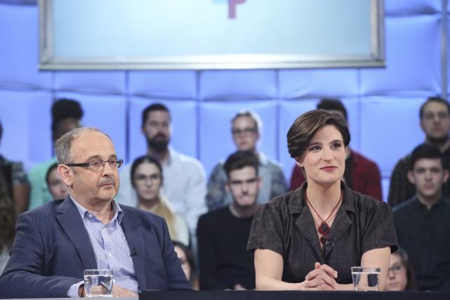 Les propos du journaliste Fabrice de Pierrebourg ont... (Fournie par ICI Radio-Canada Télé)