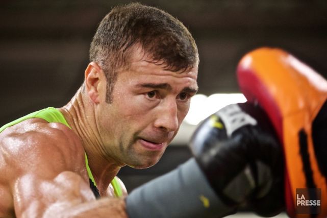 Lucian Bute... (PHOTO ANDRÉ PICHETTE, archives LA PRESSE)