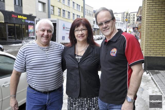 Le président du Club moto Saguenay, Réjean Lemieux,... (Photo Le Quotidien, Rocket Lavoie)