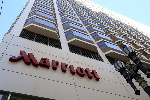 Le groupe Marriott compte 19 marques d'hôtels, allant... (AFP, Justin Sullivan)