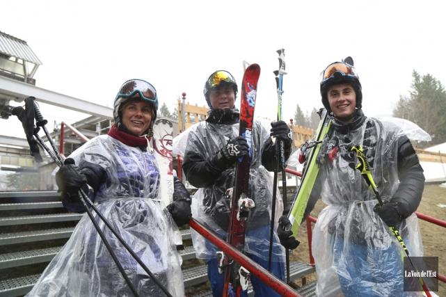 La station de ski Mont Sutton a officiellement... (Janick Marois, La Voix de l'Est)