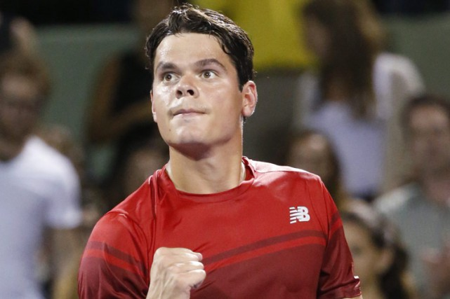 Milos Raonic... (Associated Press)