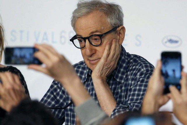 Woody Allen au Festival de Cannes en mai... (PHOTO ARCHIVES REUTERS)