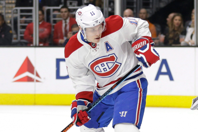 Brendan Gallagher s'est blessé au bas du corps... (Photo Jae C. Hong, archives AP)