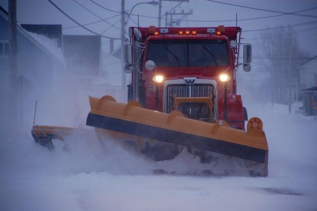 L'hiver a repris ses droits dans l'Est-du-Québec, qui... (Collaboration spéciale Johanne Fournier)
