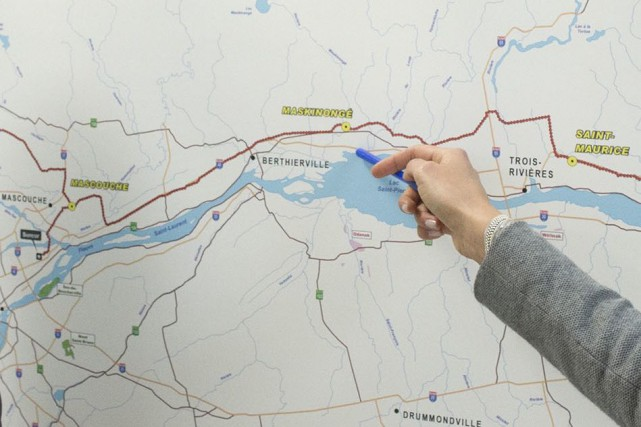 Si le projet se réalisait, cinq municipalités de... (Stéphane Lessard)