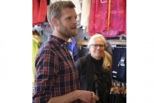 L'ultramarathonien et copropriétaire de la boutique Course et... (photo Christophe Boisseau-Dion)