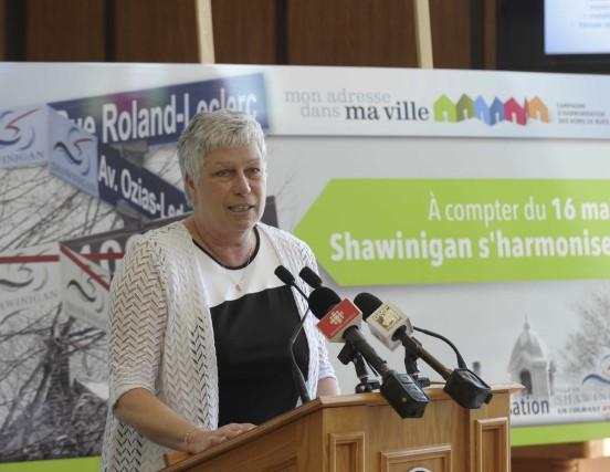 Présidente de la commission de toponymie de Shawinigan,... (Sylvain Mayer)