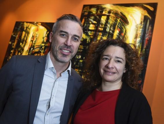 Sur la photo, on retrouve Éric Lord, directeur... (François Gervais)