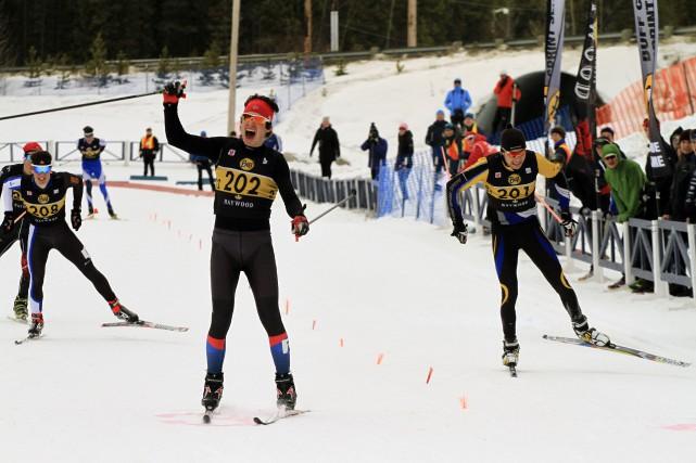 Antoine Cyr a gagné l'or aux championnats canadiens... (Courtoisie, Bernard Pigeon)