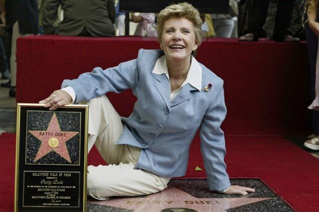 Patty Duke, le 17 août 2004, alors qu'elle... (AP, Damian Dovarganes)