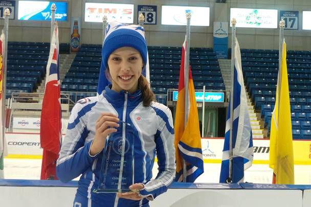 Florence Brunelle a survolé les Championnats canadiens de... (Courtoisie Archives)