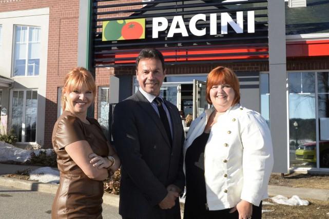 La chaîne Pacini a procédé à l'ouverture officielle... (Sylvain Mayerà)