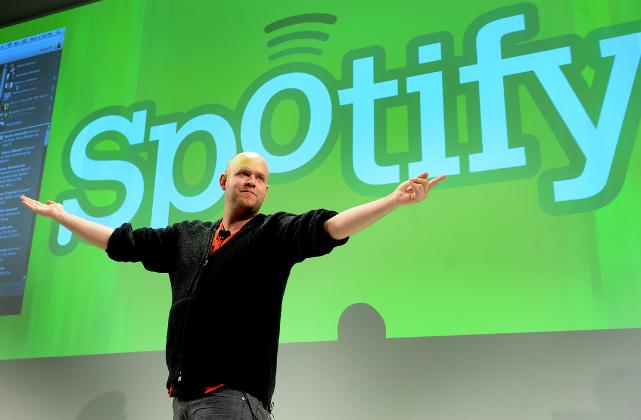 Le fondateur de Spotify, Daniel Ek.... (PHOTO LOUIS LANZANO, BLOOMBERG)
