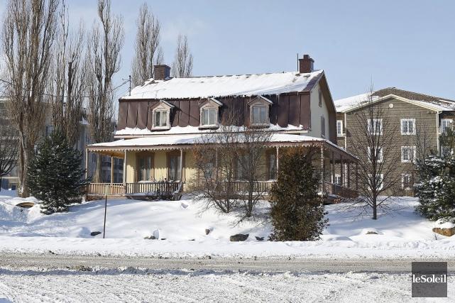 La maison Wilfrid-Edge à L'Ancienne-Lorette... (Photothèque Le Soleil, Yan Doublet)