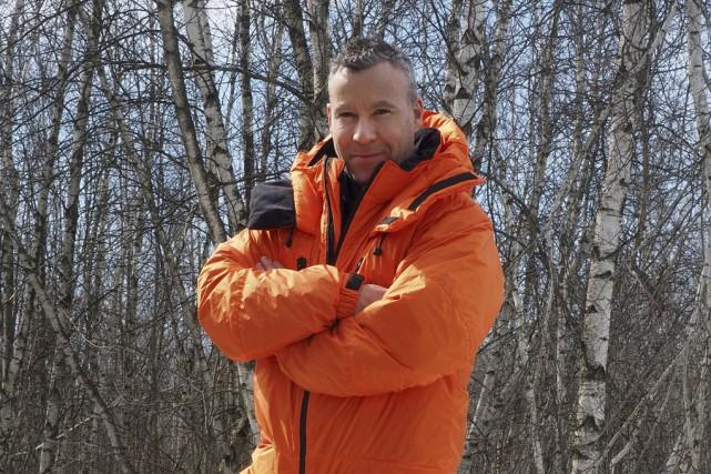 L'alpiniste Jean-François Tardif portera une combinaison élaborée à... (photo Alain Dion)