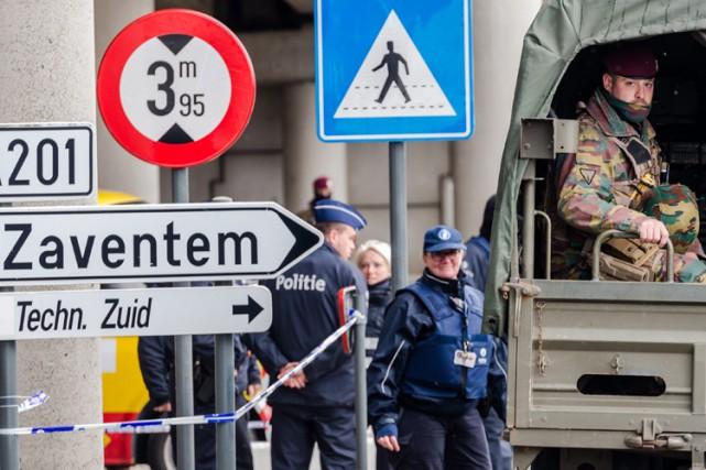 La capitale belge, frappée le 22 mars par... (Archives AP)