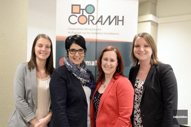 La 36e assemblée générale annuelle de CORAMH se... (Photo Le Quotidien, Jeannot Lévesque)