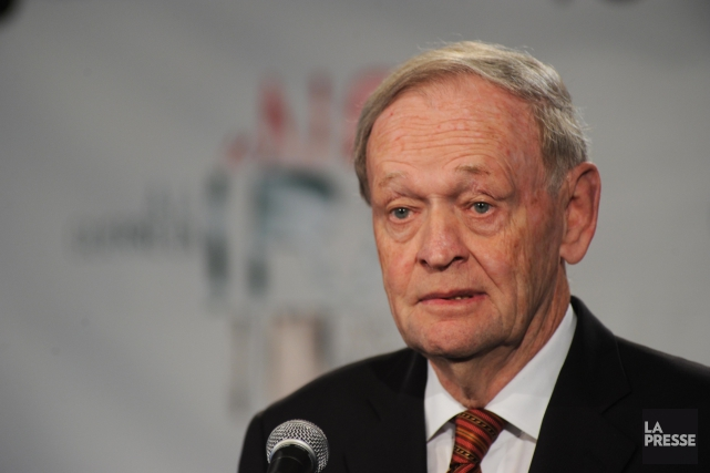 L'ancien premier ministre Jean Chrétien... (Photo Sylvain Mayer, archives Le Nouvelliste)