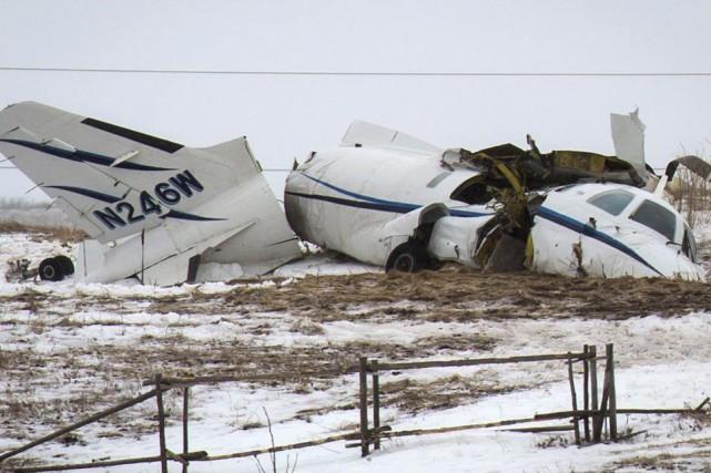 Un petit avion s'est écrasé aux Îles-de-la-Madeleine, mardi,... (La Presse Canadienne, David Noel)