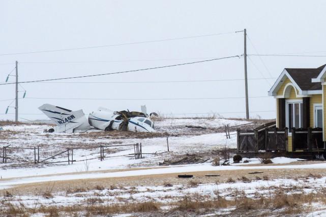 Plusieurs témoins, qui habitent près du lieu de... (La Presse Canadienne, David Noël)