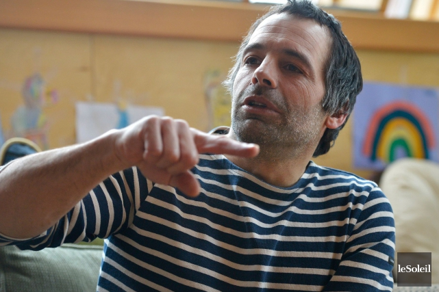 Éric Tabardel est à la recherche de commanditaires... (Le Soleil, Yan Doublet)