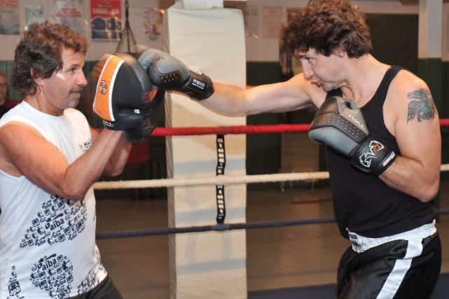 Le président de Boxing Canada, Pat Fiacco (à... (Archives La Presse Canadienne)