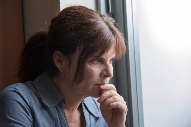 GuylaineTremblay interprète le personnage deMarieLamontagne dans Unité9.... (Photo fournie par ICI Radio-Canada)