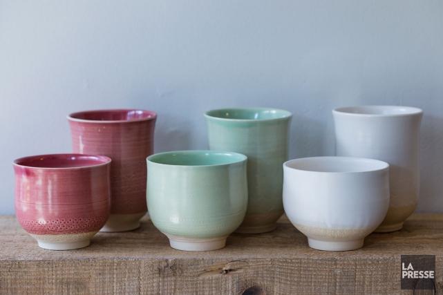 La poterie connaît un nouvel élan, tout en... (PHOTO ÉDOUARD PLANTE-FRÉCHETTE, LA PRESSE)