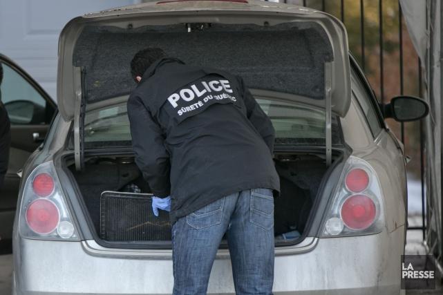 La Sûreté du Québec (SQ) annonce mercredi le déploiement d'une très vaste... (Photo La Presse)