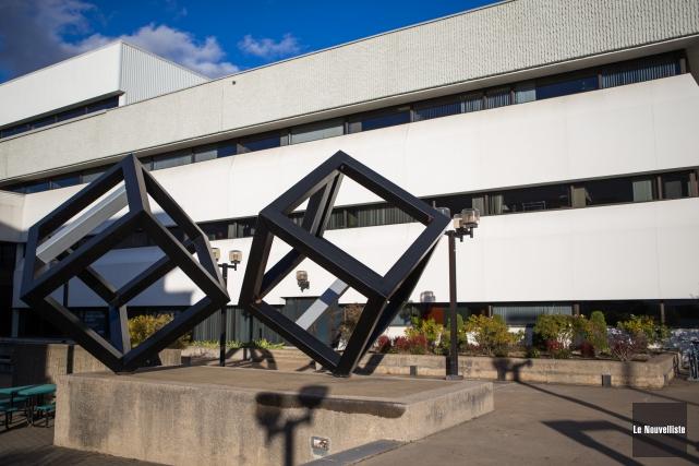 L'Université du Québec à Trois-Rivières génère 695 millions... (Photo: Olivier Croteau Le Nouvelliste)