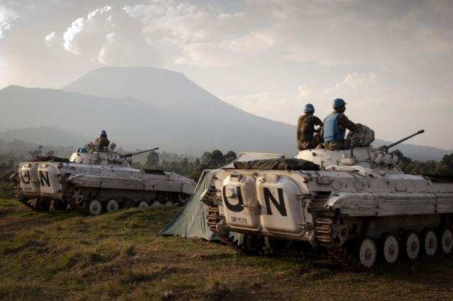 La résolution ne change pas l'effectif actuel ni... (PHOTO AFP)