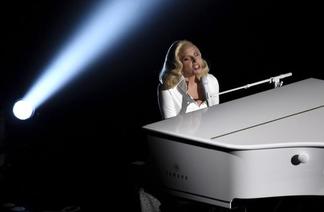 Lady Gaga... (Associated Press)