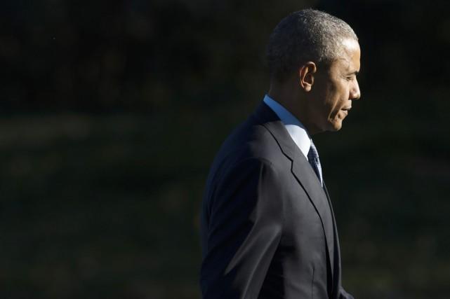 Barack Obama avait lui-même lancé en avril 2010... (PHOTO SAUL LOEB, AFP)