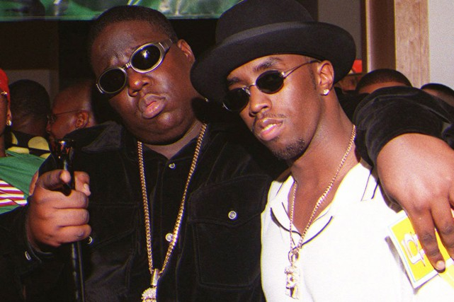 Notorious B.I.G. et Puff Daddy (Sean Diddy Combs)... (PHOTO ARCHIVES AP)